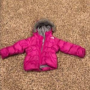 North face 2T puffer coat